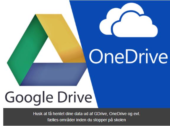 GdriveOneDrive